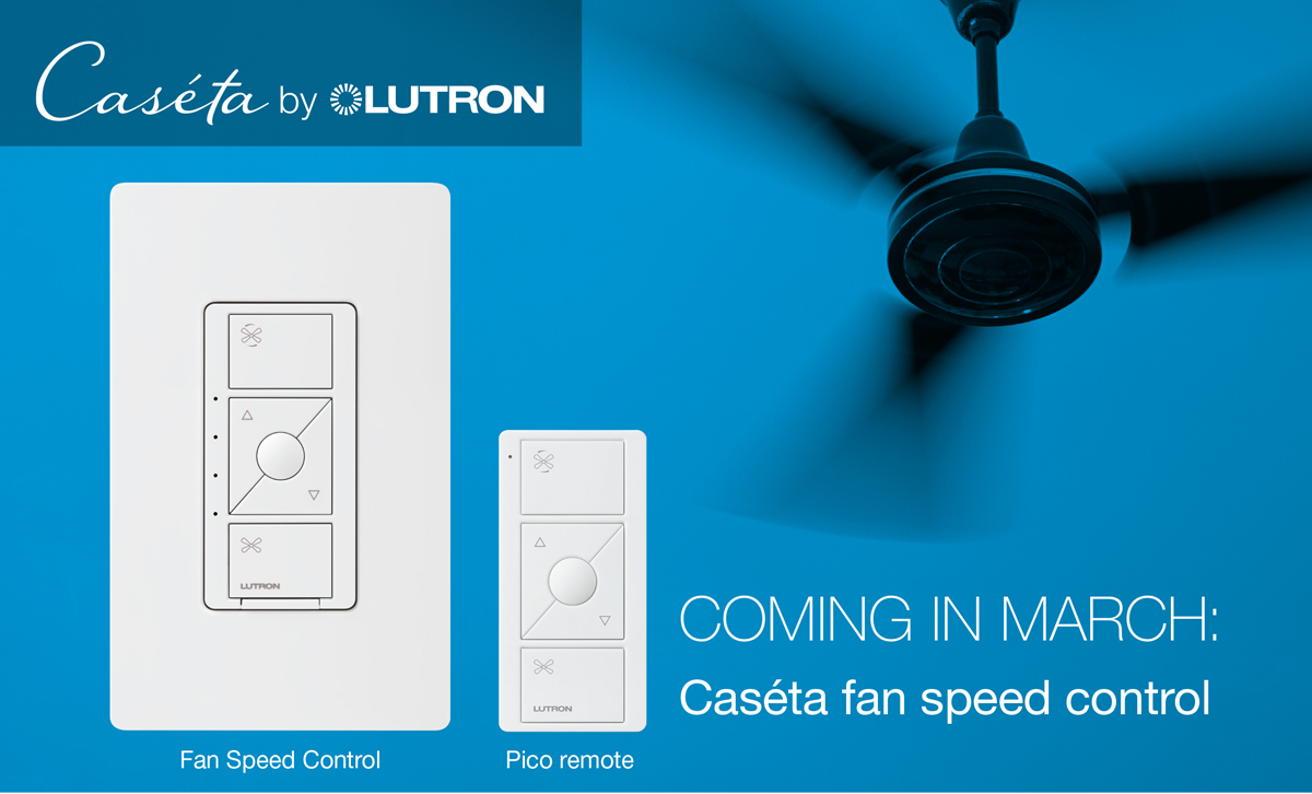 Caseta Smart Fan Speed Control – HomeKit dream!